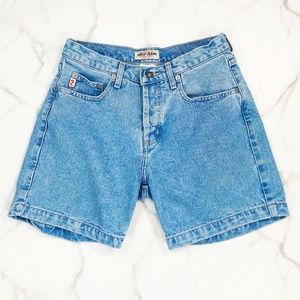 Vintage 90s Guess High Rise Button Fly Jean Shorts
